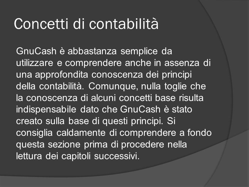 Concetti di contabilità
