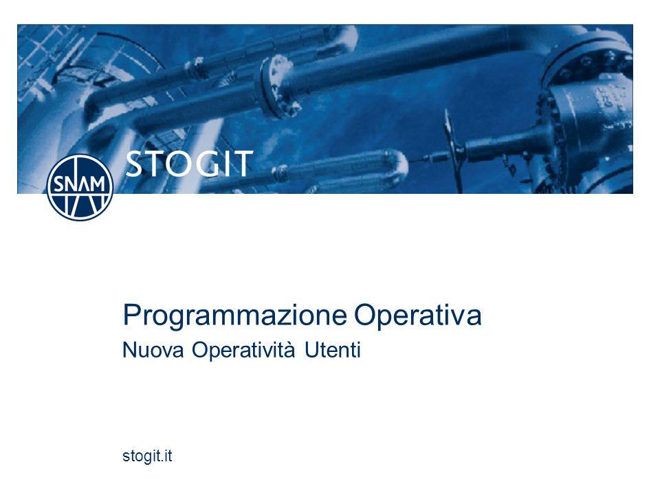 Programmazione Operativa