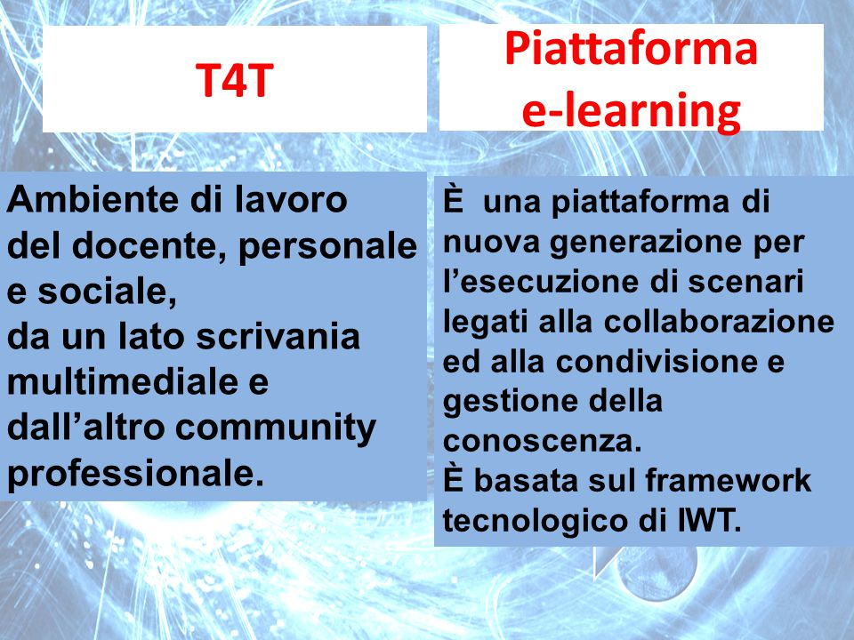 T4T Piattaforma e-learning