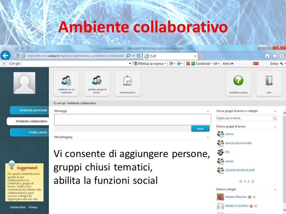 Ambiente collaborativo