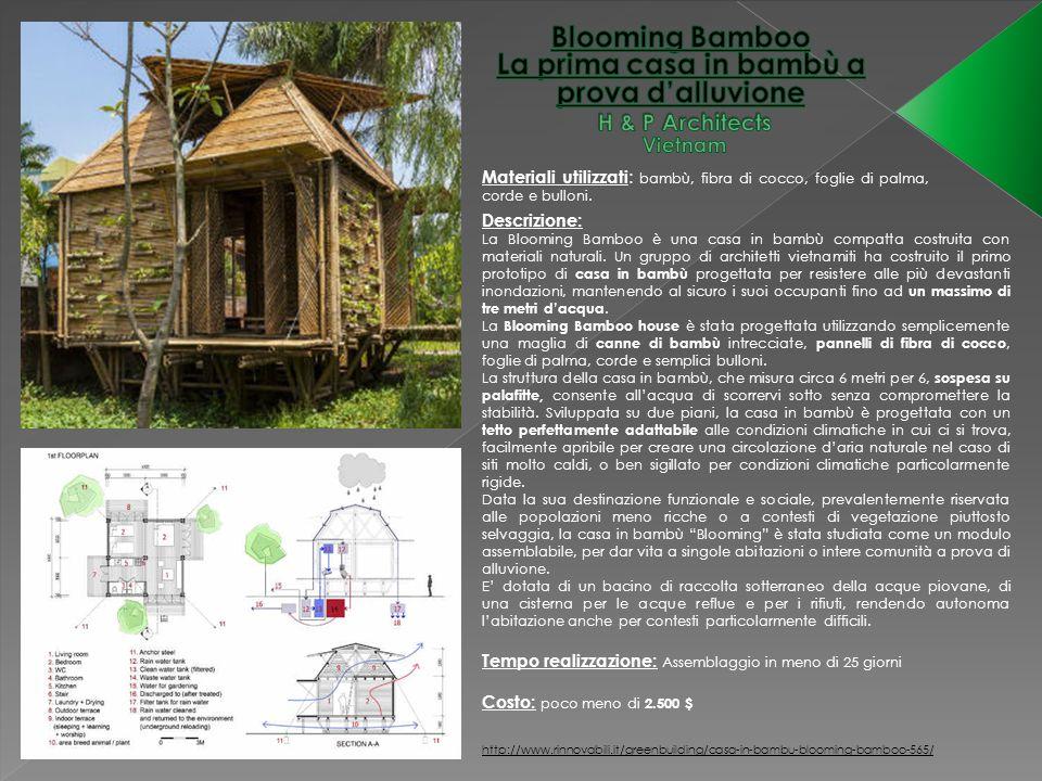 La prima casa in bambù a prova d'alluvione H & P Architects Vietnam