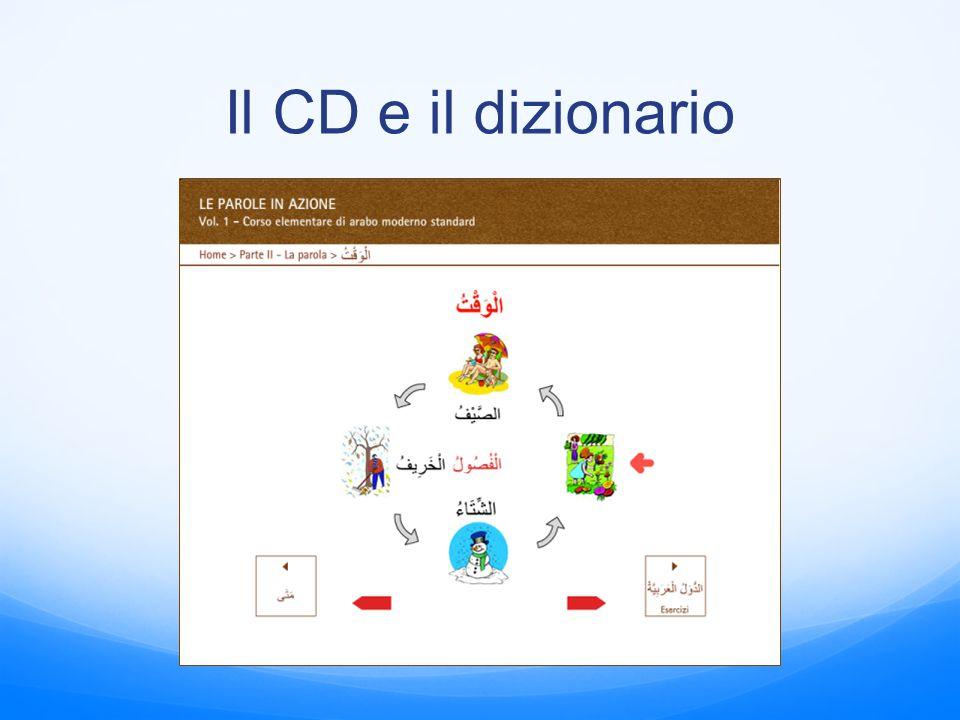 Il CD e il dizionario