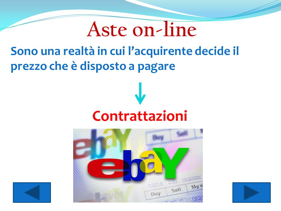 Aste on-line Contrattazioni