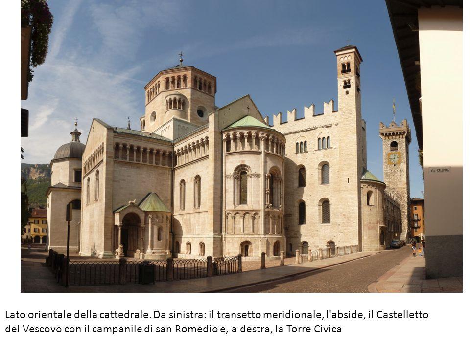 Lato orientale della cattedrale