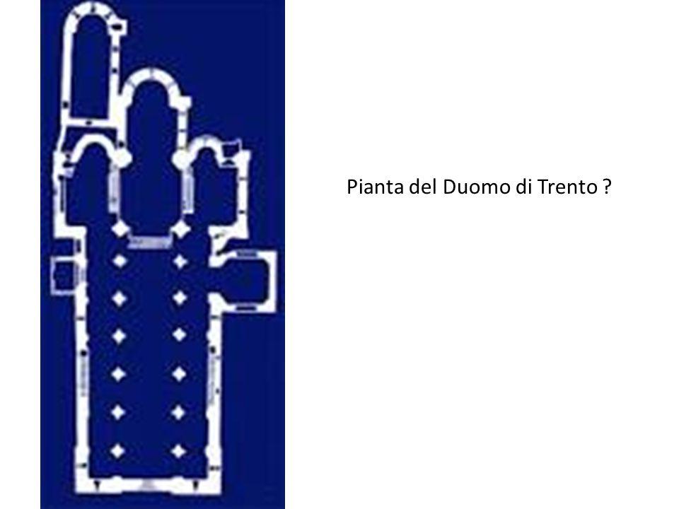 Pianta del Duomo di Trento