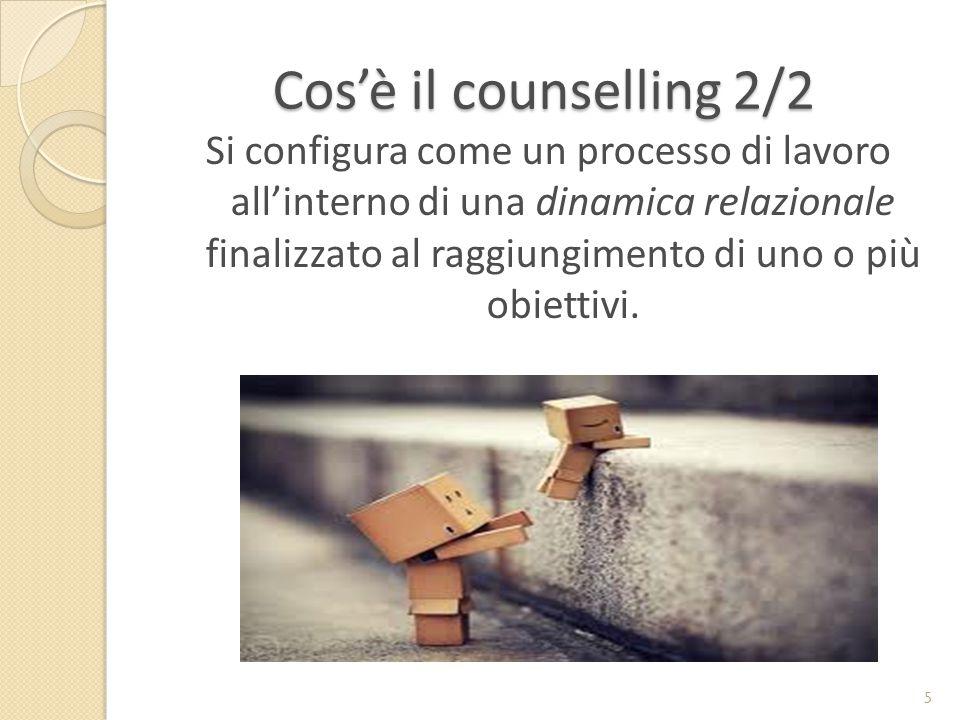 Cos'è il counselling 2/2