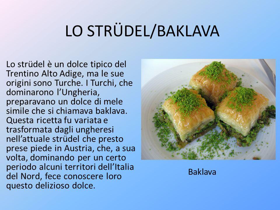 LO STRÜDEL/BAKLAVA