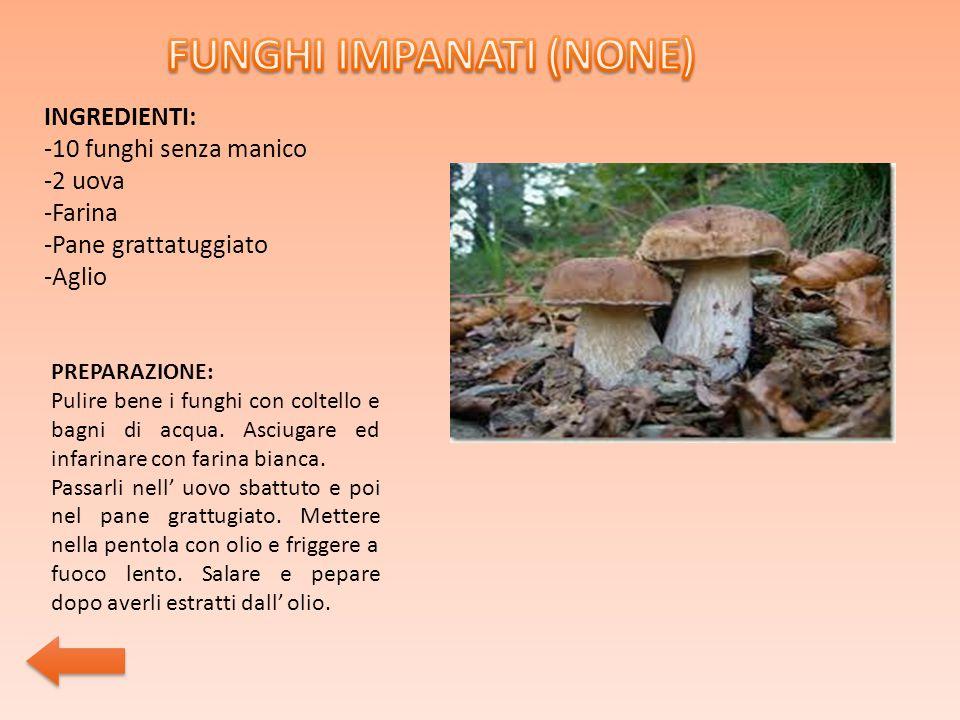 FUNGHI IMPANATI (NONE)