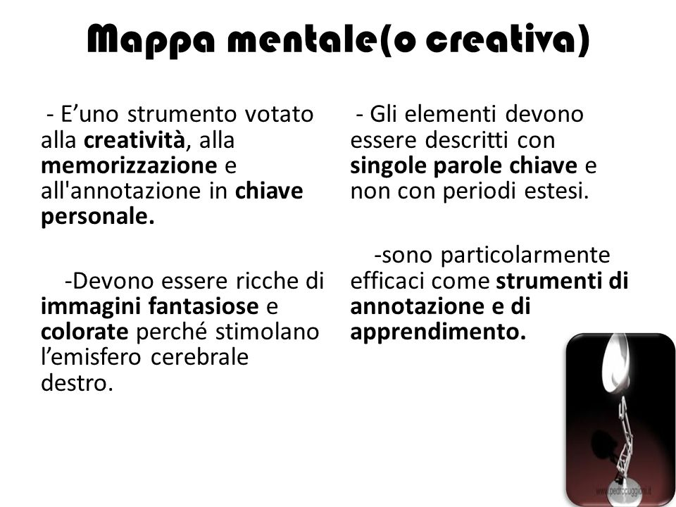 Mappa mentale(o creativa)