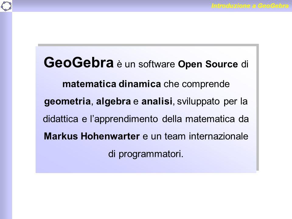 Introduzione a GeoGebra