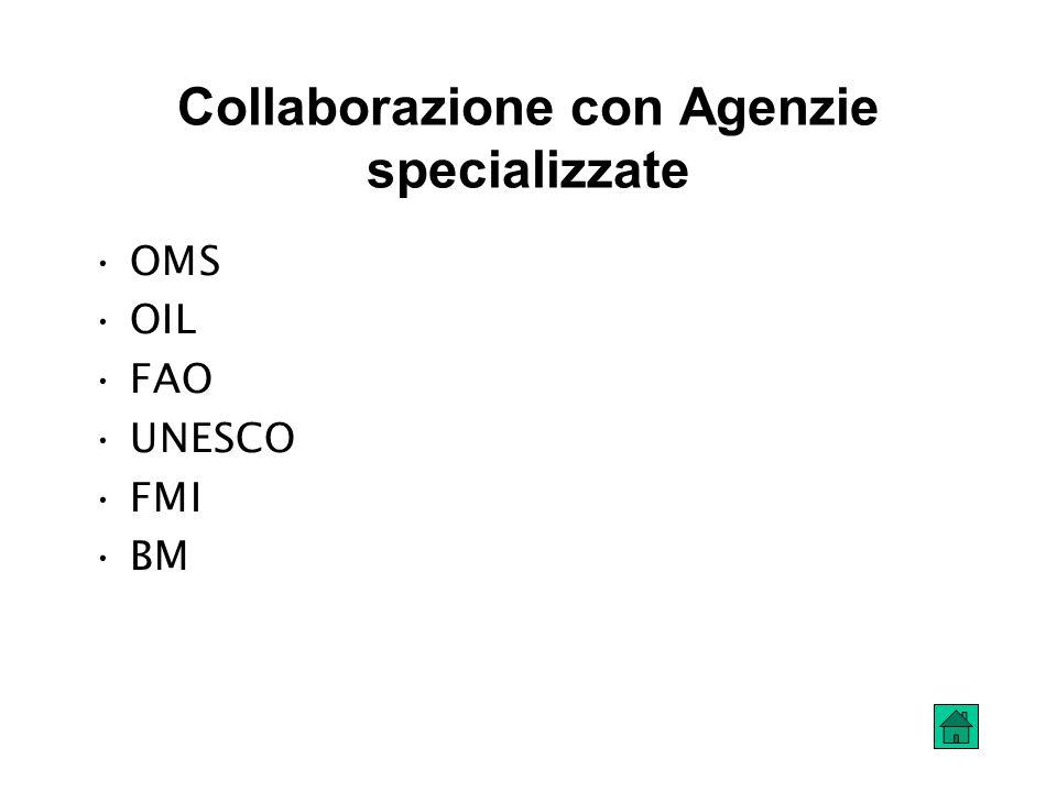 Collaborazione con Agenzie specializzate