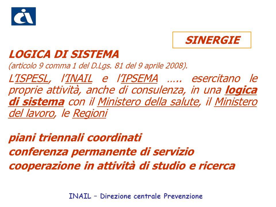 piani triennali coordinati conferenza permanente di servizio