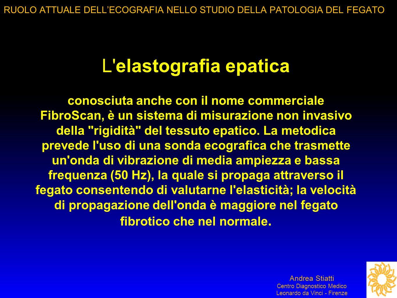 RUOLO ATTUALE DELL'ECOGRAFIA NELLO STUDIO DELLA PATOLOGIA DEL FEGATO
