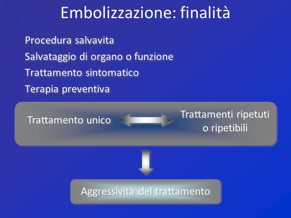 Embolizzazione: finalità
