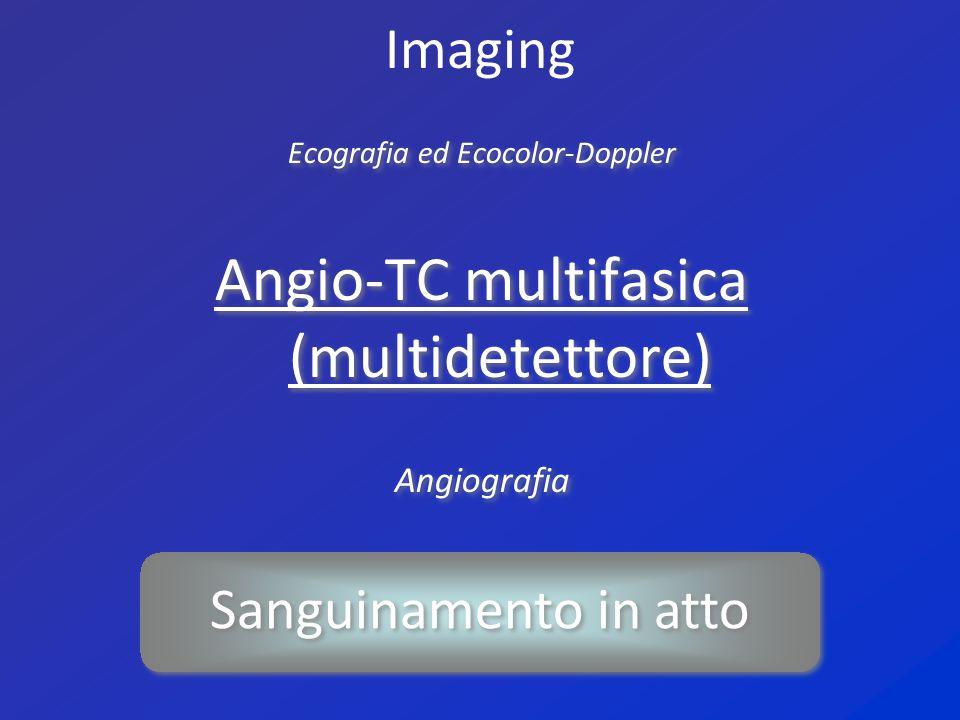 Angio-TC multifasica (multidetettore)