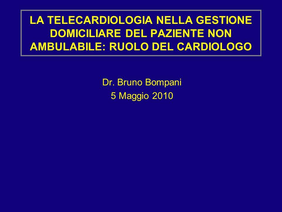 Dr. Bruno Bompani 5 Maggio 2010