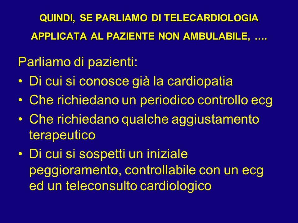 Di cui si conosce già la cardiopatia