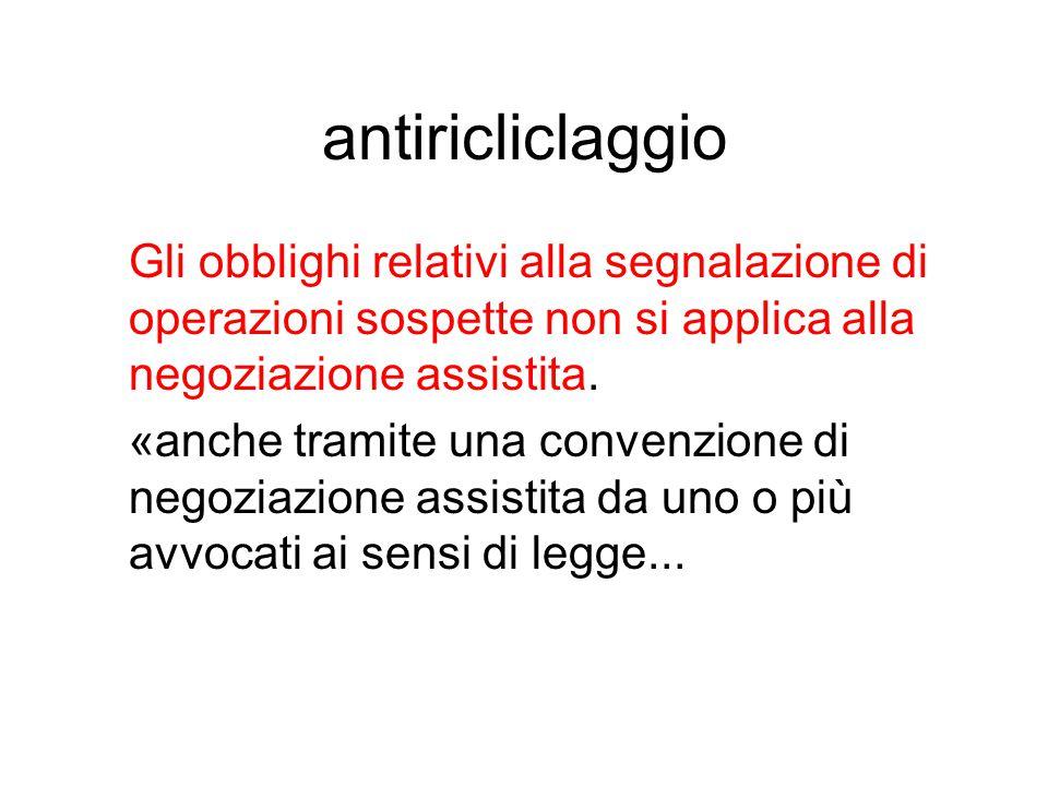 antiricliclaggio