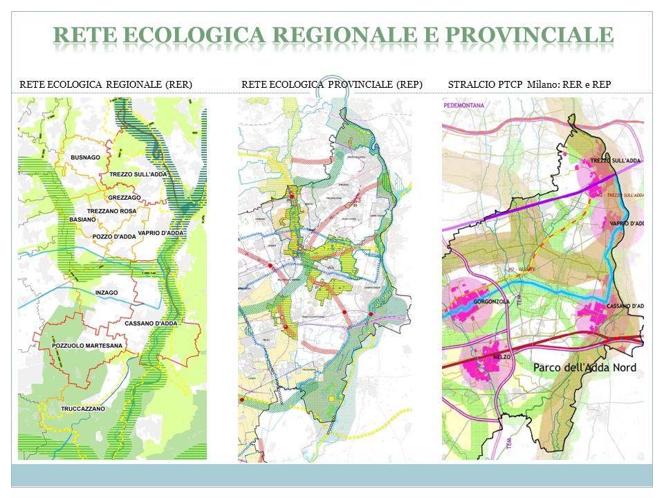 Rete ecologica regionale e provinciale