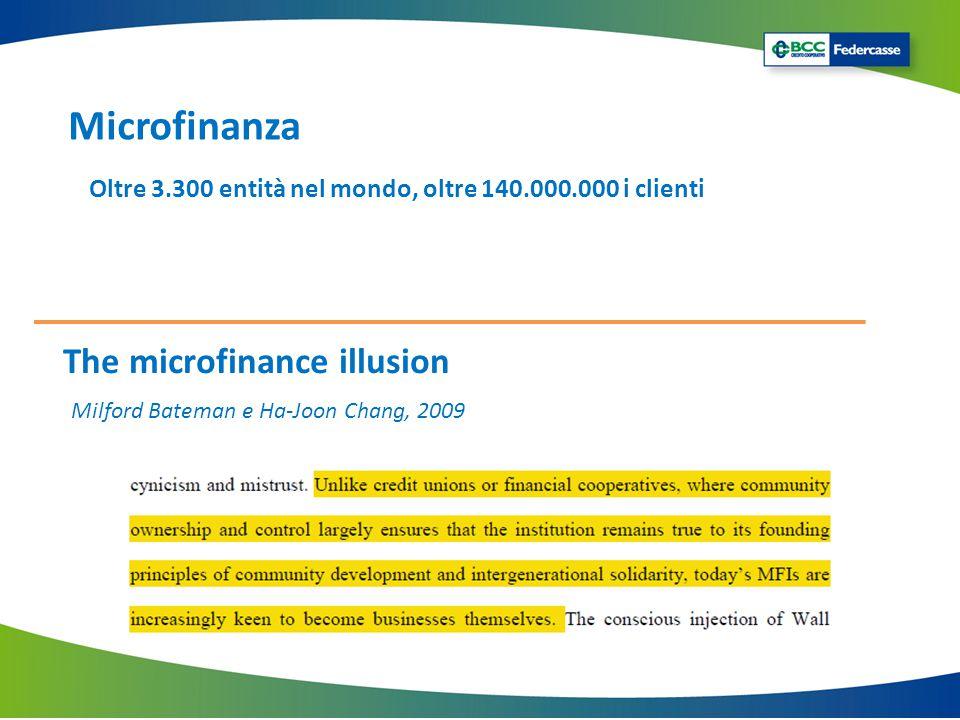 Microfinanza The microfinance illusion