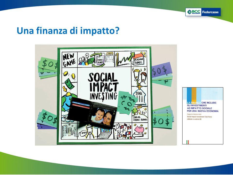 Una finanza di impatto