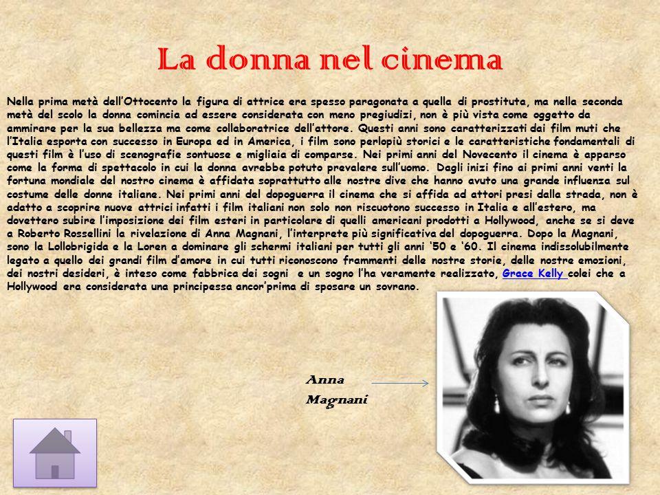 La donna nel cinema Anna Magnani
