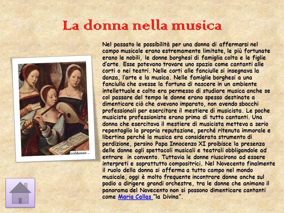 La donna nella musica