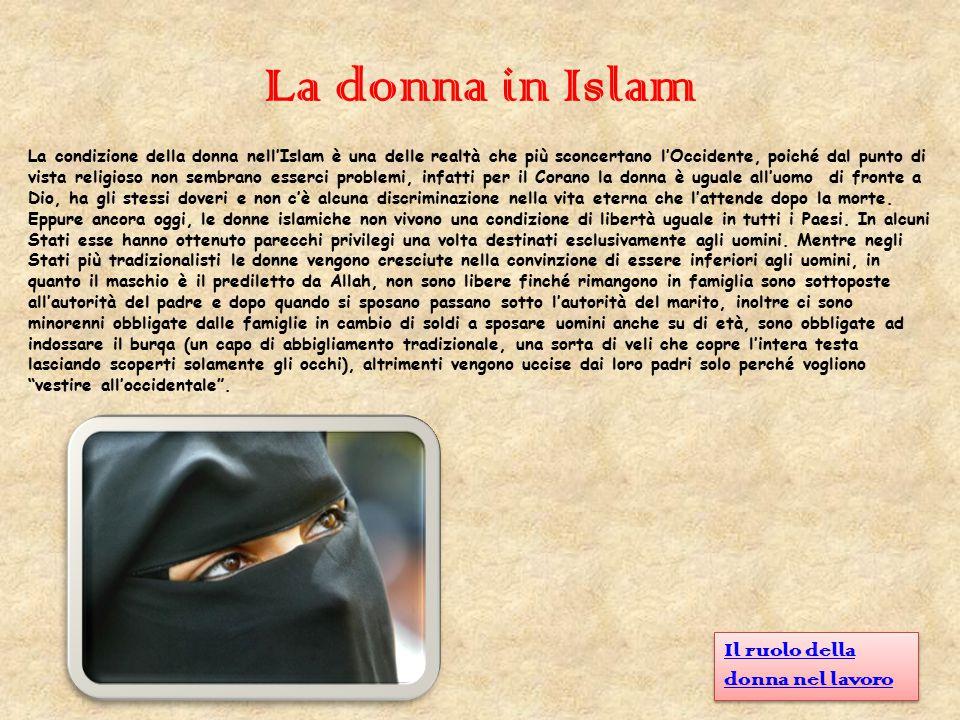 La donna in Islam Il ruolo della donna nel lavoro