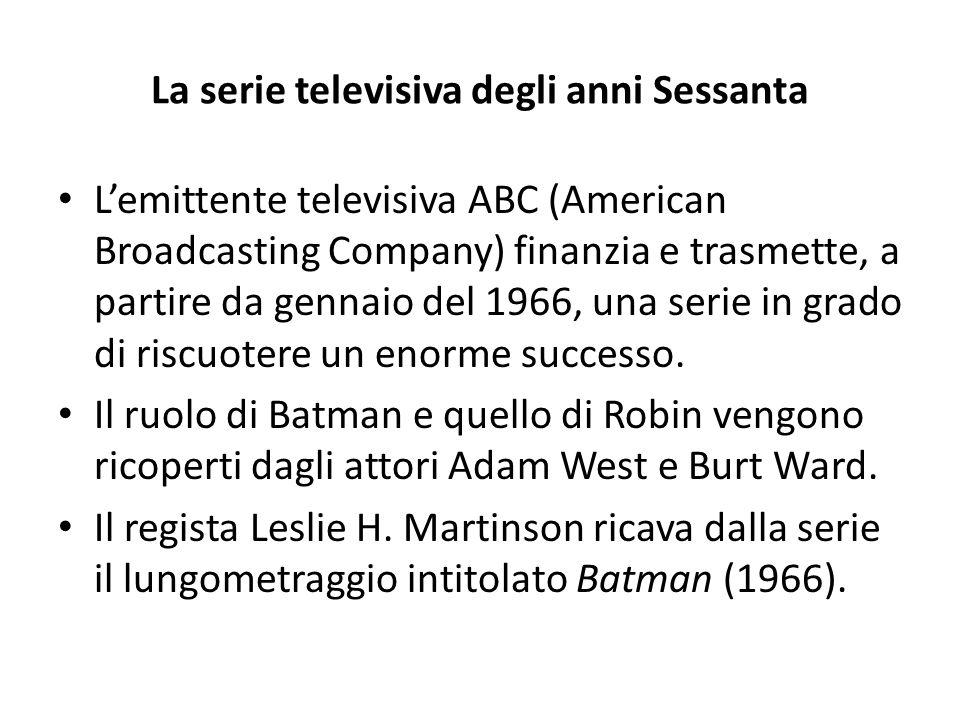 La serie televisiva degli anni Sessanta