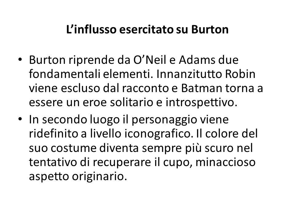 L'influsso esercitato su Burton