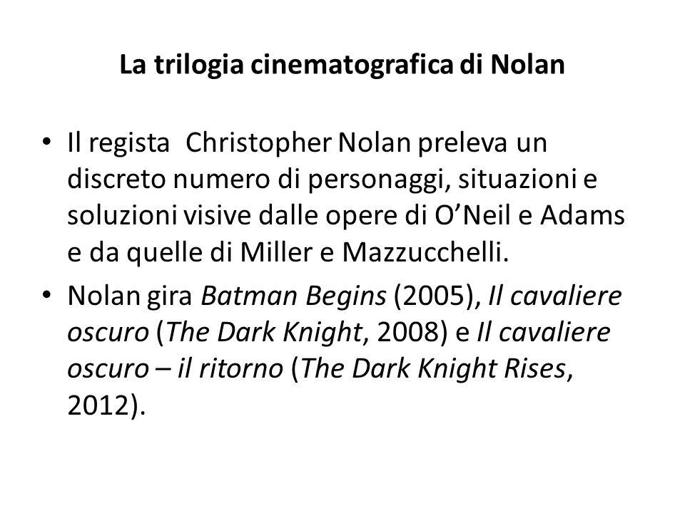 La trilogia cinematografica di Nolan