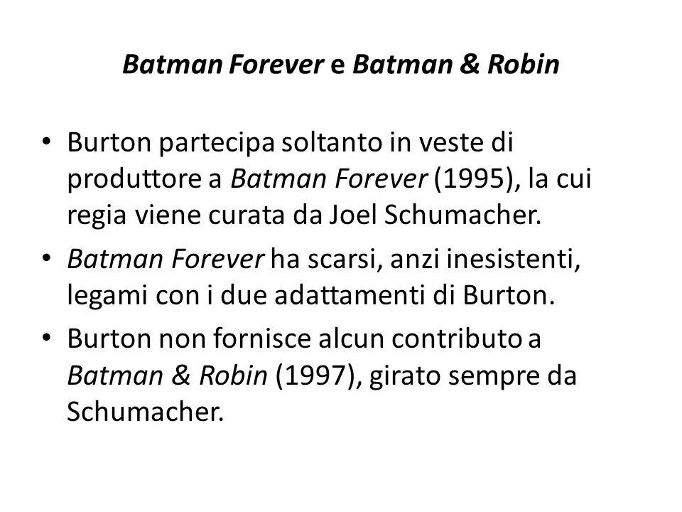 Batman Forever e Batman & Robin