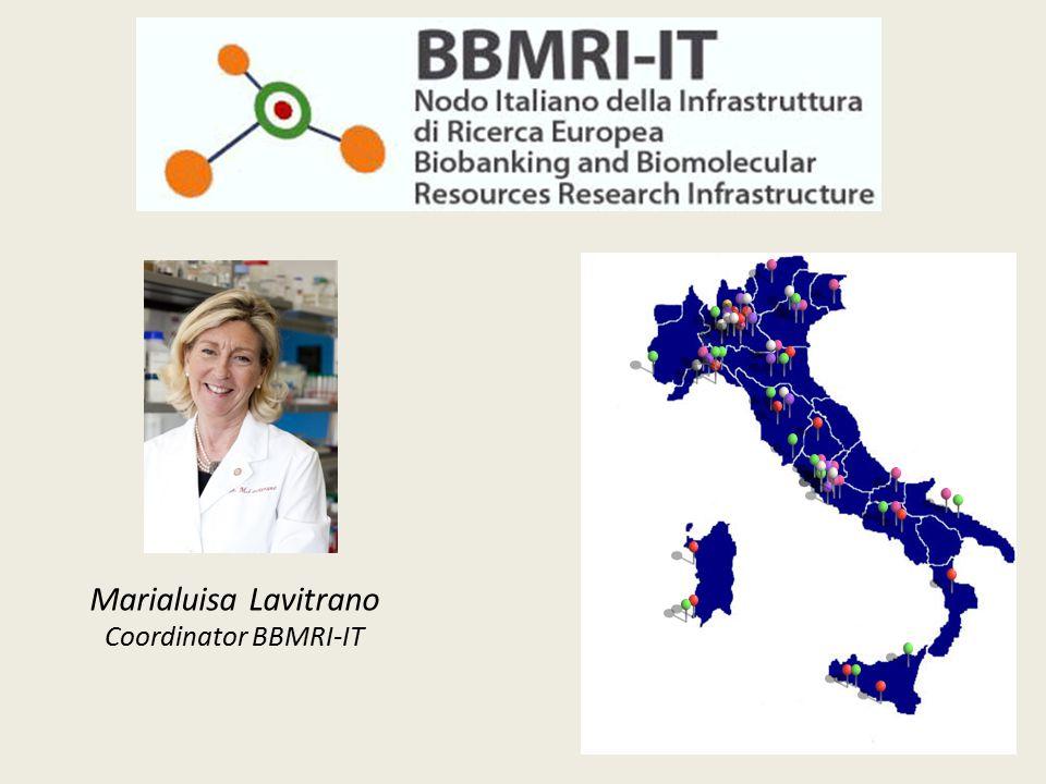Marialuisa Lavitrano Coordinator BBMRI-IT