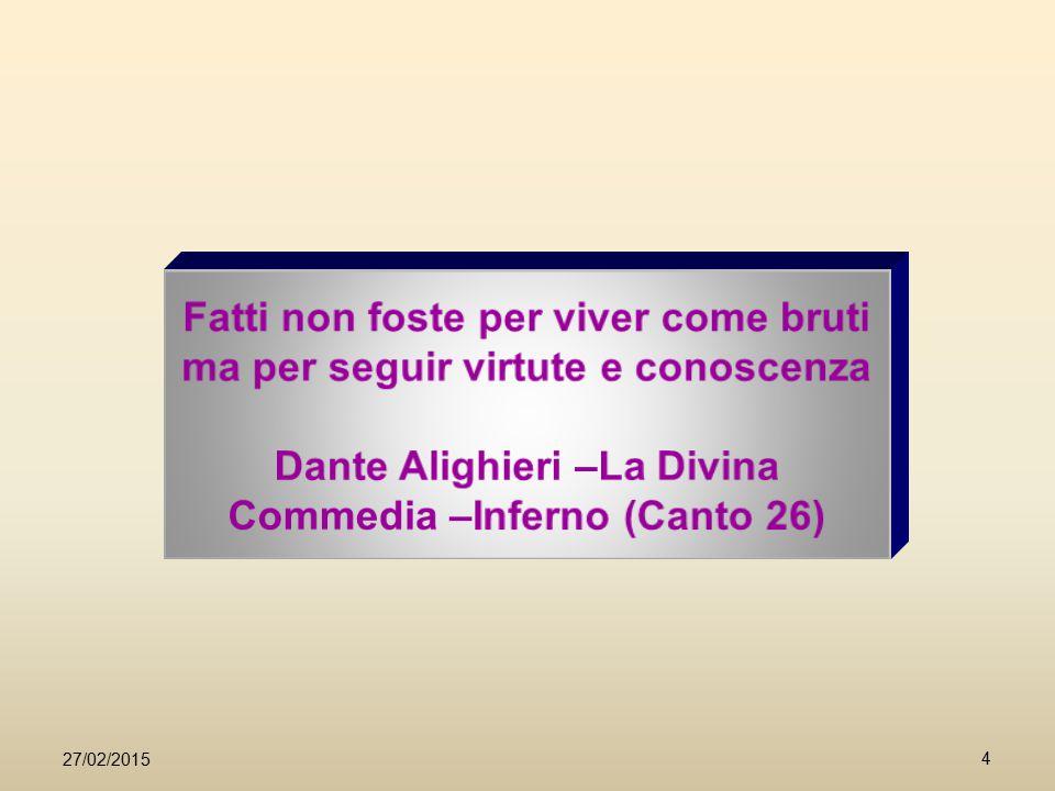 Dante Alighieri –La Divina Commedia –Inferno (Canto 26)