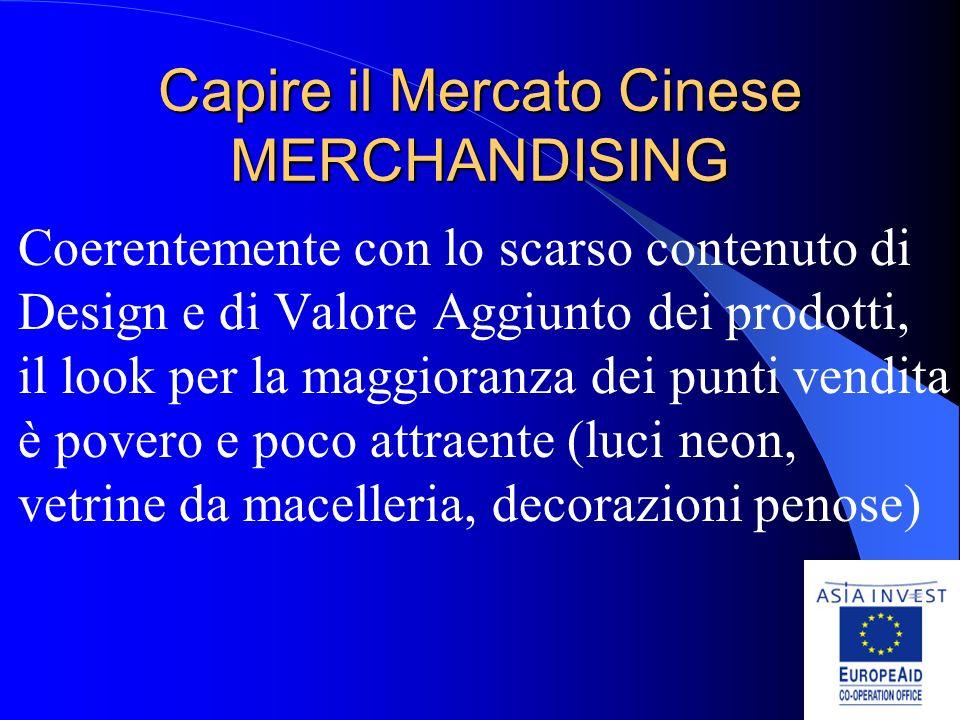 Capire il Mercato Cinese MERCHANDISING