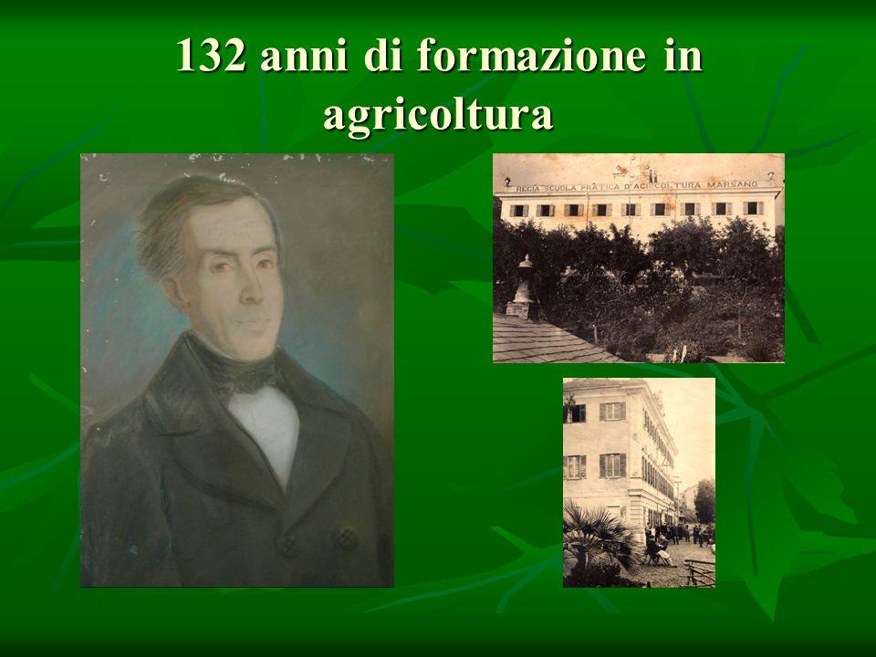 132 anni di formazione in agricoltura