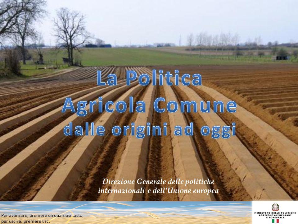 La Politica Agricola Comune