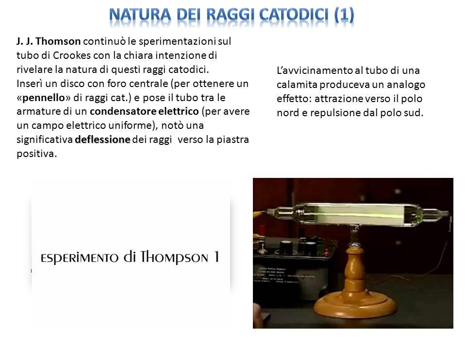 natura dei raggi catodici (1)