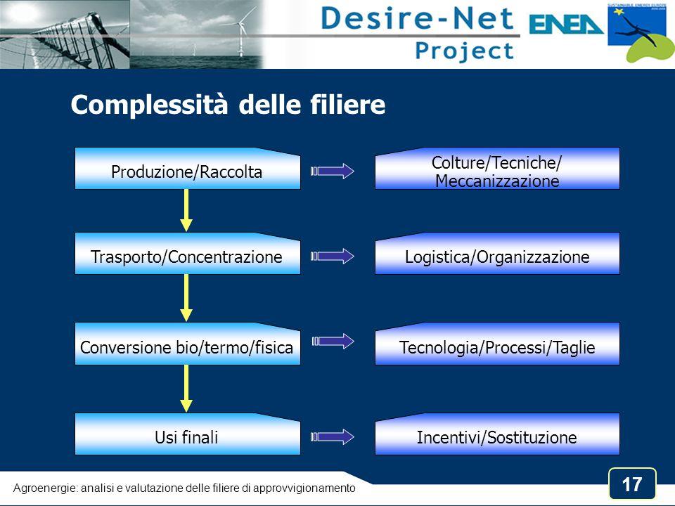 Complessità delle filiere
