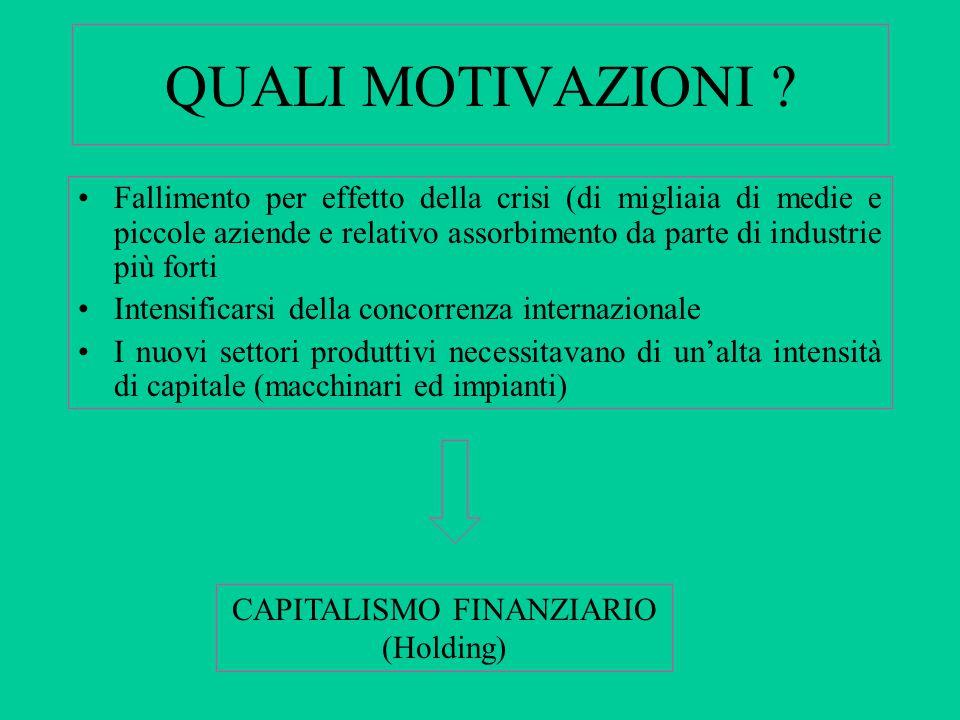 CAPITALISMO FINANZIARIO (Holding)