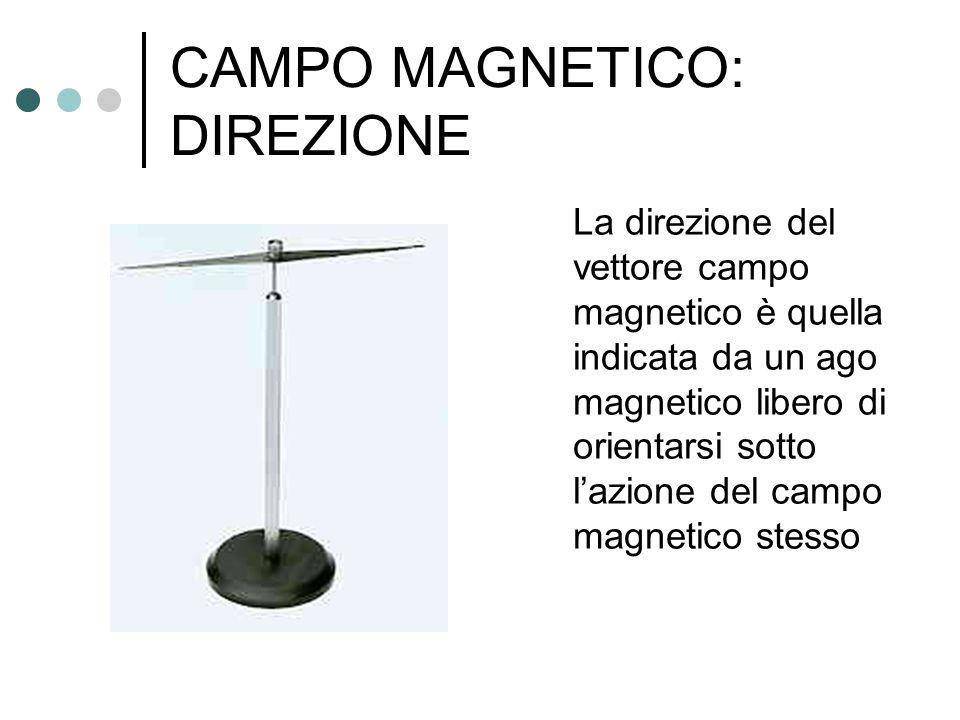 CAMPO MAGNETICO: DIREZIONE