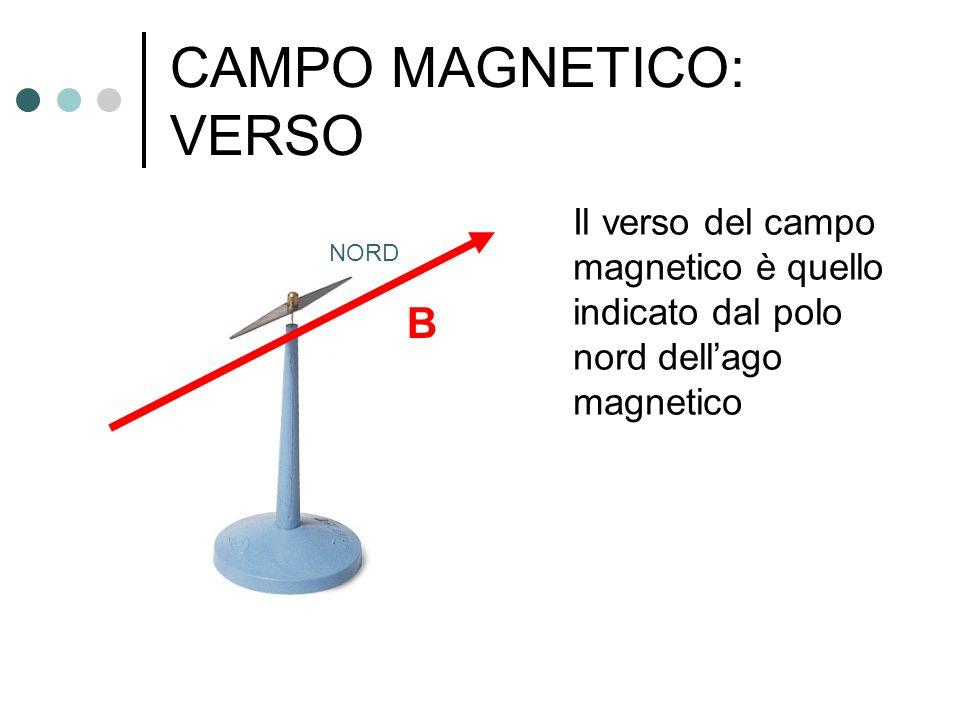CAMPO MAGNETICO: VERSO