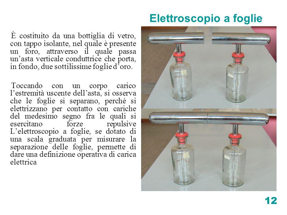 Elettroscopio a foglie
