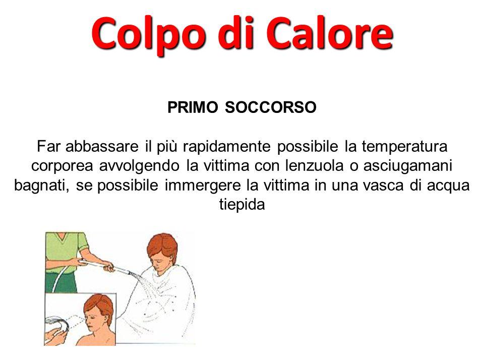 Colpo di Calore PRIMO SOCCORSO