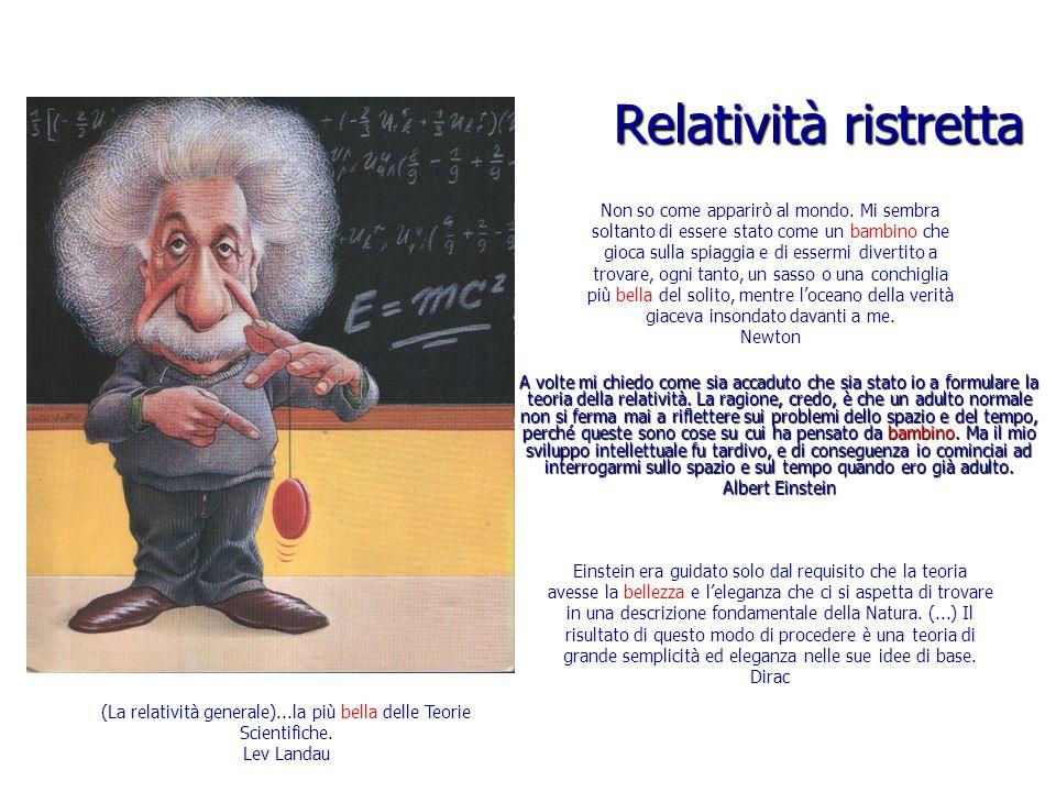 (La relatività generale)...la più bella delle Teorie Scientifiche.