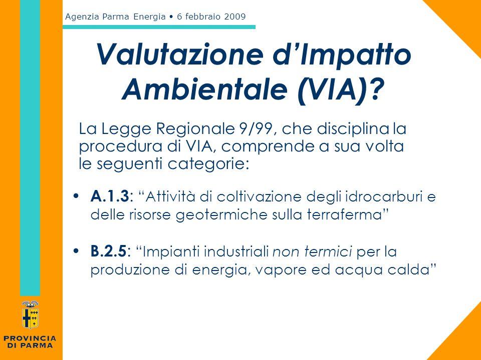 Valutazione d'Impatto Ambientale (VIA)
