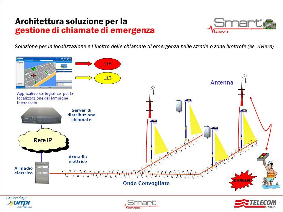 Architettura soluzione per la gestione di chiamate di emergenza