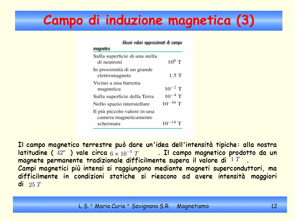 Campo di induzione magnetica (3)