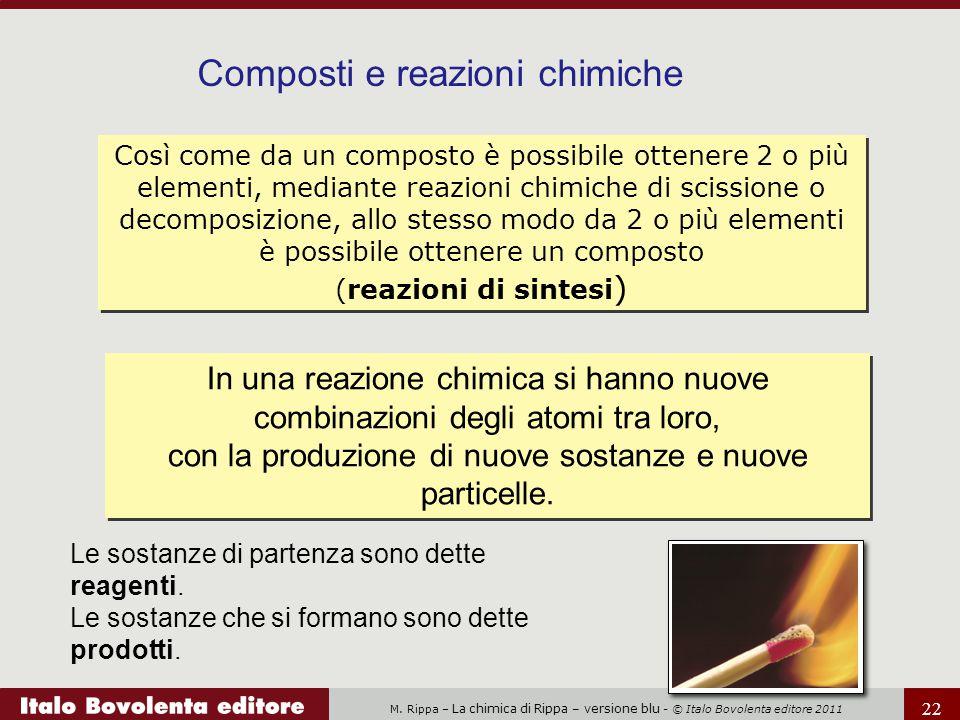 Composti e reazioni chimiche
