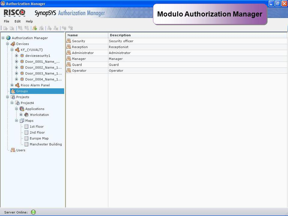 Modulo Authorization Manager